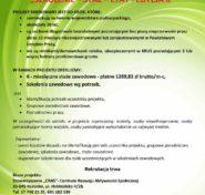 Plakat_Szkolenie - staż- etat - II edycja