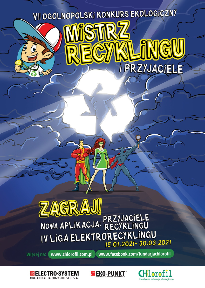 plakat konkursu recykling