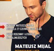 Mateusz Mijal - plakat