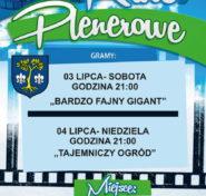 plakat Kino Plenerowe w Dębowcu