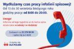 Infolinia NSP od13.09-30