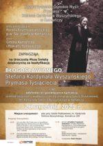 Plakat zaproszenie doKomańczy