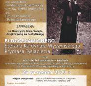 Plakat zaproszenie do Komańczy